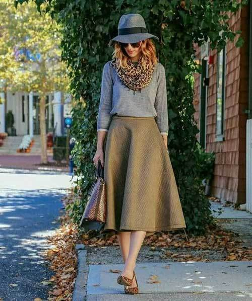 Chic Midi Skirt Outfit Ideas