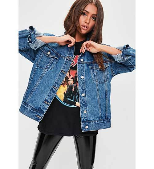 Cool Denim Jacket Outfit Ideas