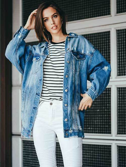 Cute Denim Jacket Outfit Ideas