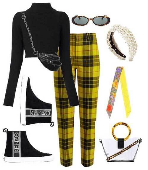 Cute Plaid Outfits