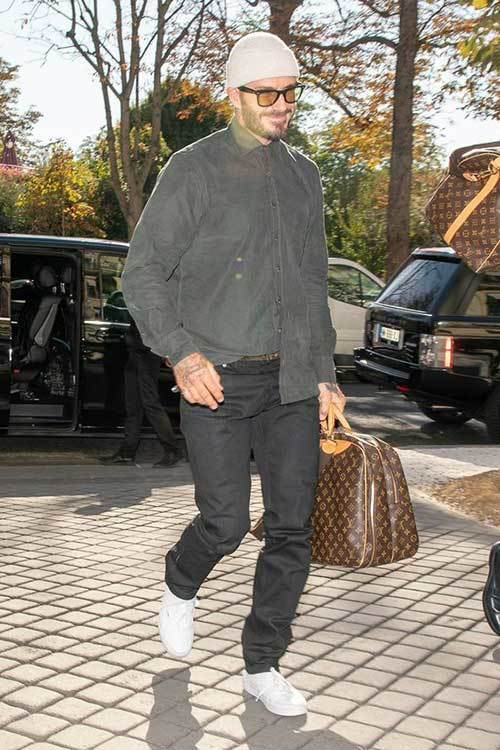David Beckham Casual Outfits