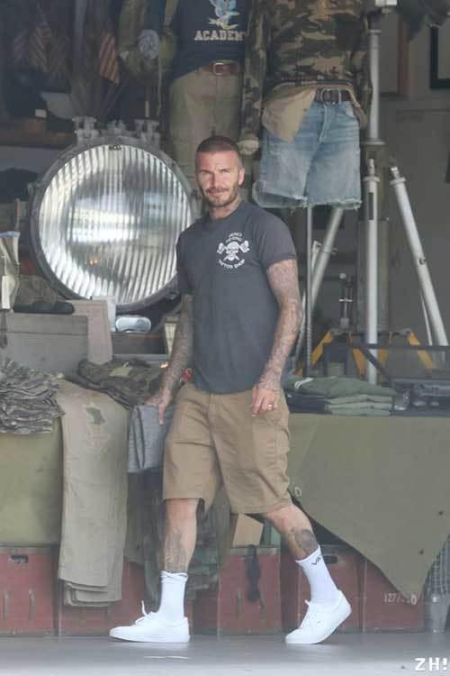 David Beckham Cool Outfits