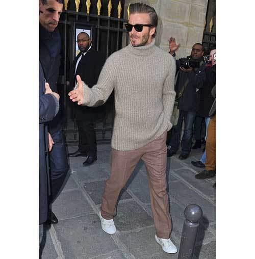 David Beckham Gentleman Outfits