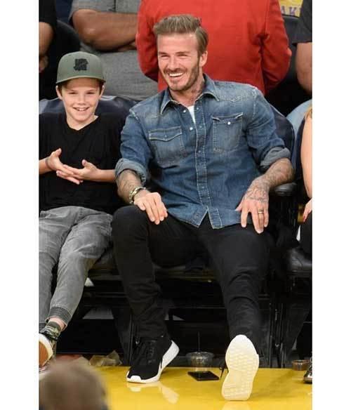 David Beckham Summer Outfits