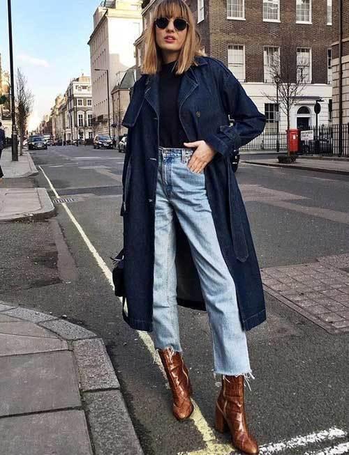 Denim London Street Style