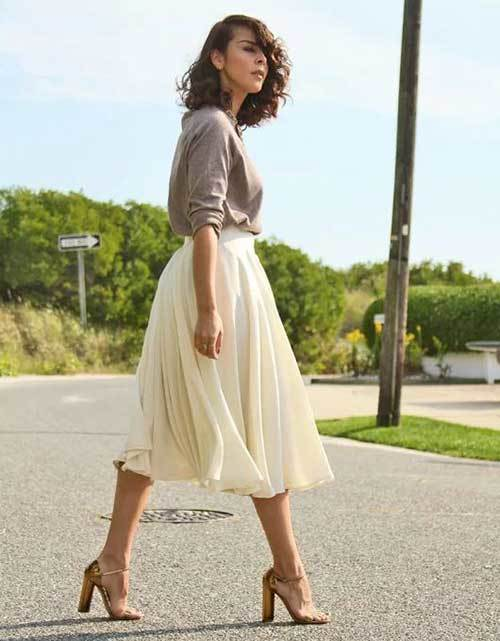 Elegant Midi Skirt Outfit Ideas