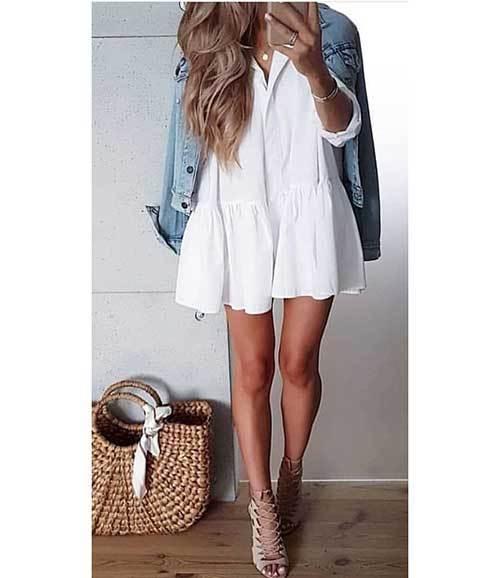 Elegant Denim Jacket Outfit Ideas