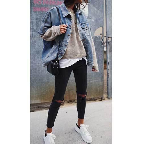 Fashionable Denim Jacket Outfit Ideas