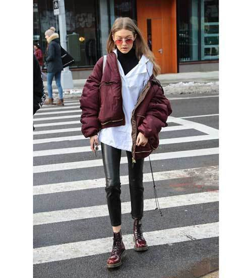 Gigi Hadid Winter Outfits