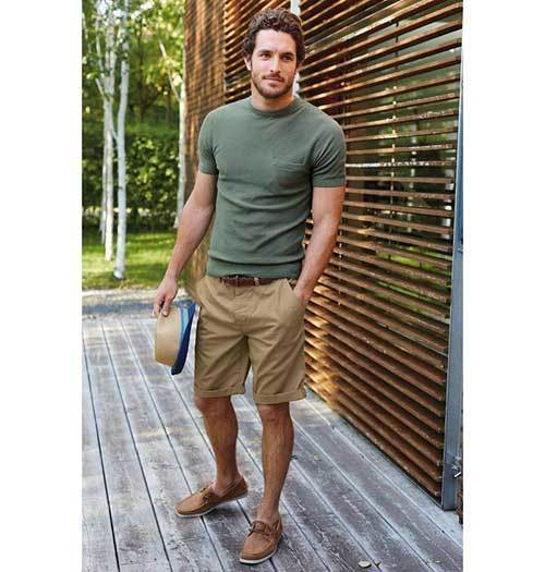Relaxed Summer Outfit İdeas Men
