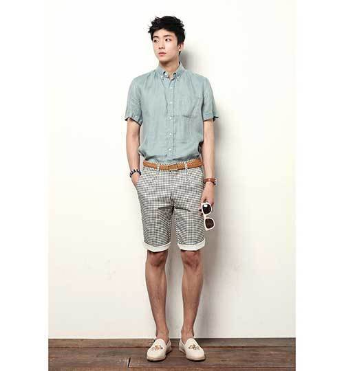 Retro Summer Outfit İdeas Men