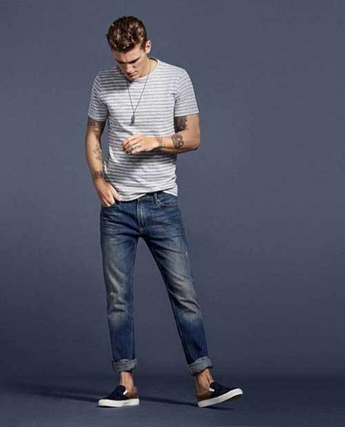 Summer Jeans Outfit İdeas Men