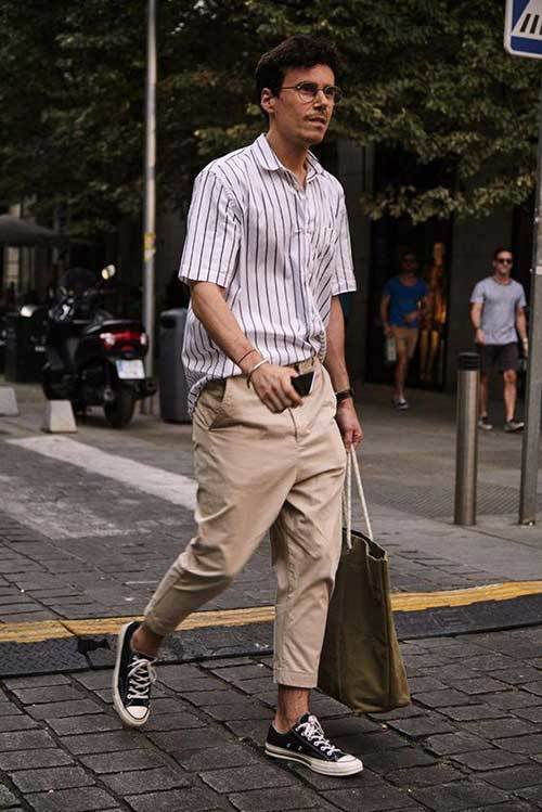 Summer Street Outfit İdeas Men