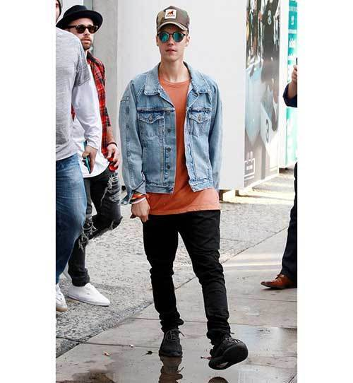Justin Bieber Casual Outfits