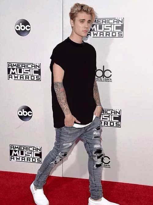 Justin Bieber Jeans Outfits