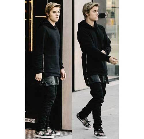 Justin Bieber Street Outfits