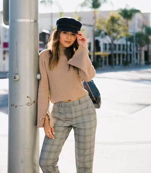 Khaki Plaid Outfits