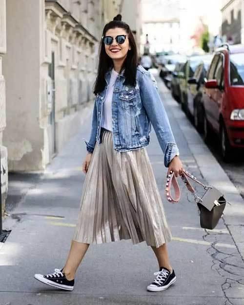 Midi Skirt Style Ideas