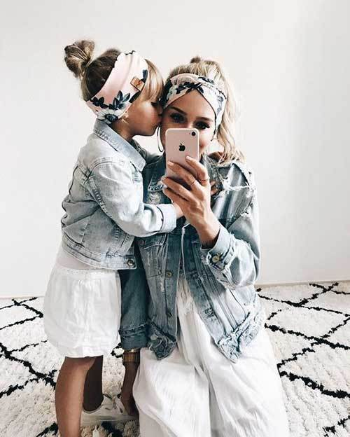 Mom and Daughter Matching Outfit Ideas