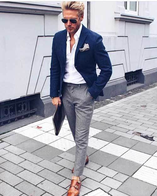 Navy Classy Mens Outfits