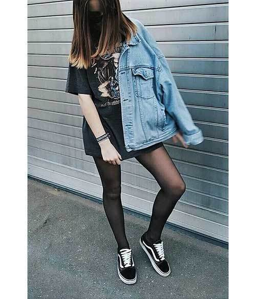 Denim Jacket Spring Outfit Ideas