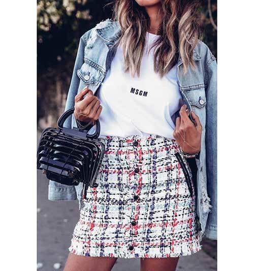 Denim Jacket Summer Outfit Ideas