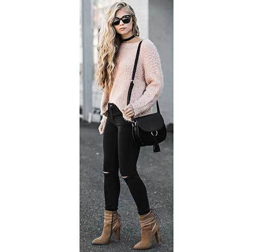 Street Style Pink Outfits