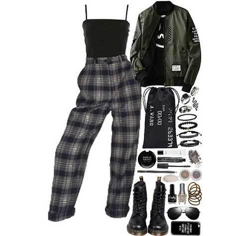 Plaid Street Outfits