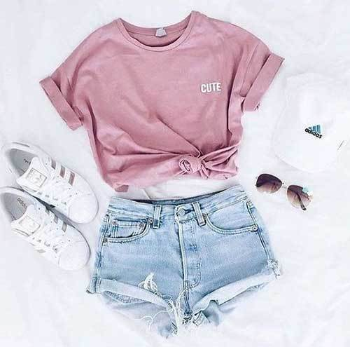 Simple Summer Outfit İdeas