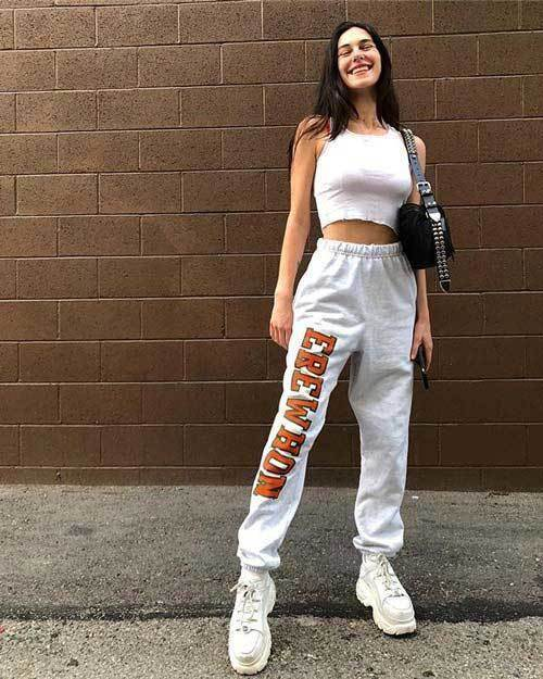 Summer Sweatpants Outfits