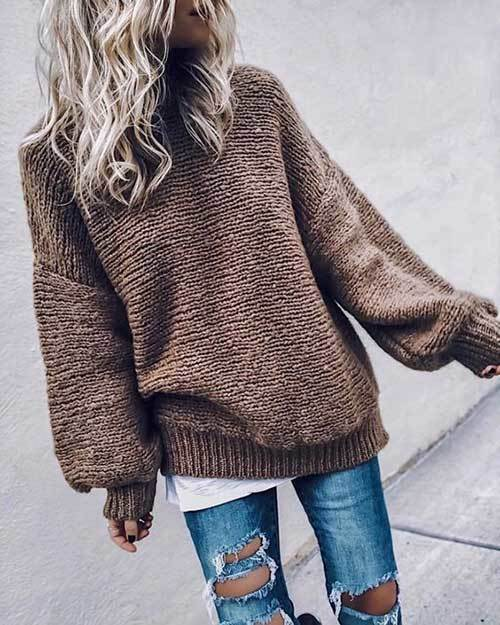 Winter Jeans Outfit Ideas