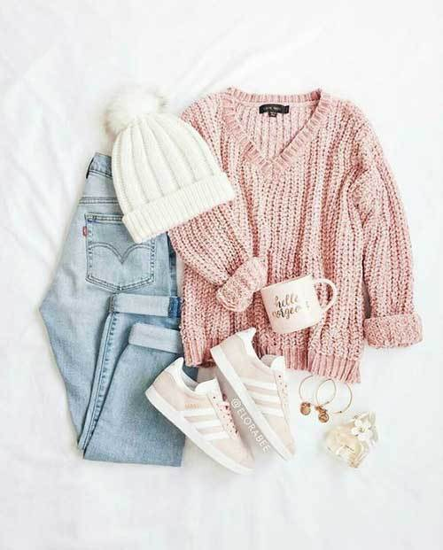 Winter School Outfit Ideas