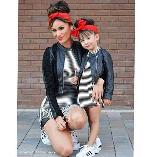 Stylish Mom and Daughter Matching Outfits
