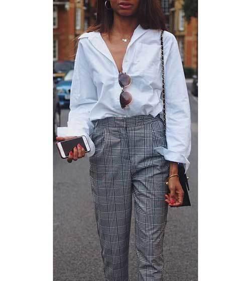 Stylish Plaid Outfits