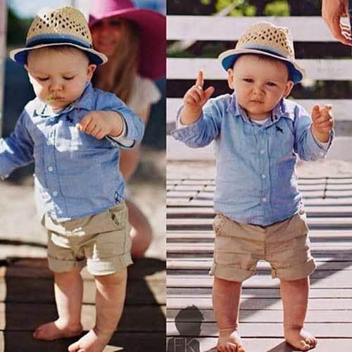 Little Boy Summer Wear Outfits