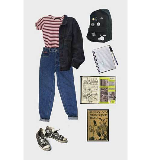 Vintage Grunge Outfits