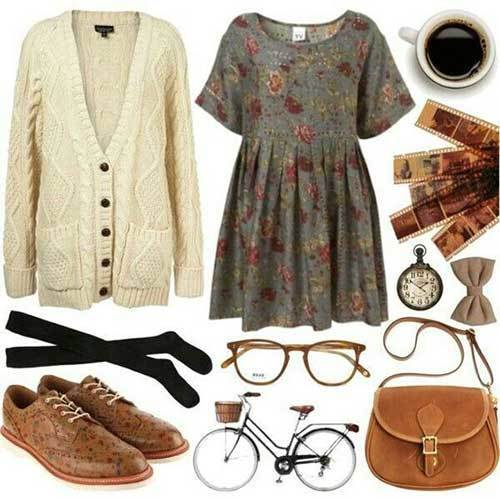 Vintage Hipster Outfits