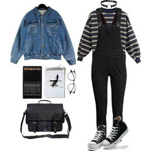 Vintage Stranger Things Outfits