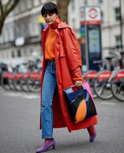 Warm London Street Style