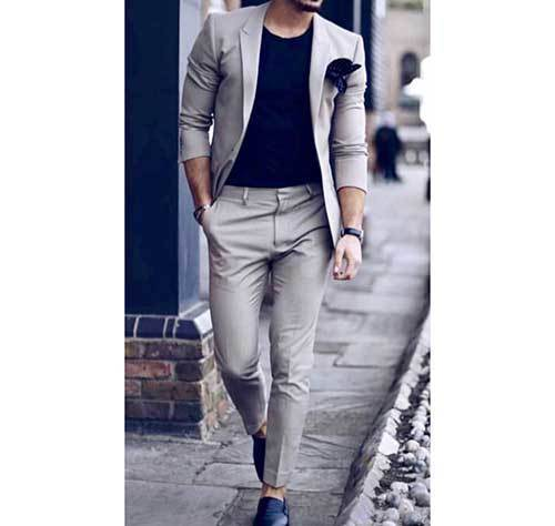 Classy Mens White Outfits