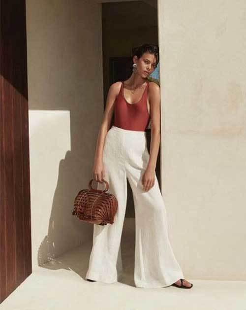 Wide Leg Summer Pants Fashion