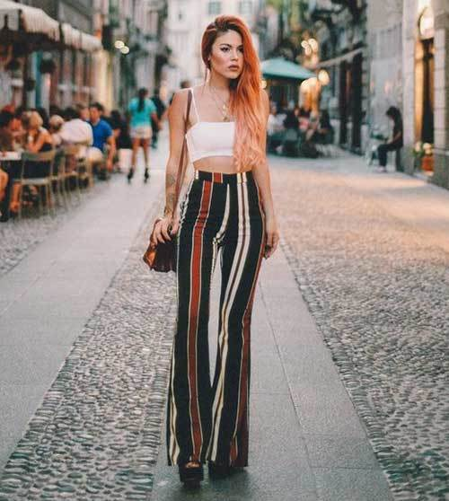 Street Style Wide Leg Summer Pants