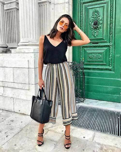 Wide Leg Summer Work Pants