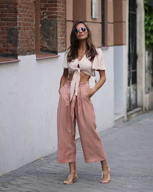 Wide Legged Pants Outfit