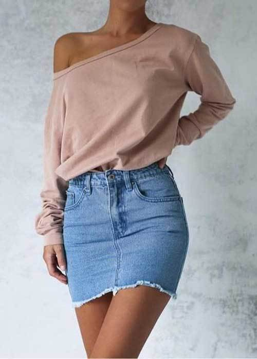 Off Shoulder Outfit Ideas-23