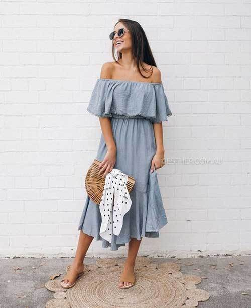Off Shoulder Outfit Ideas-34