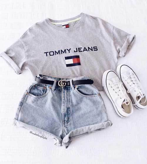 Cute 90s Summer Outfits