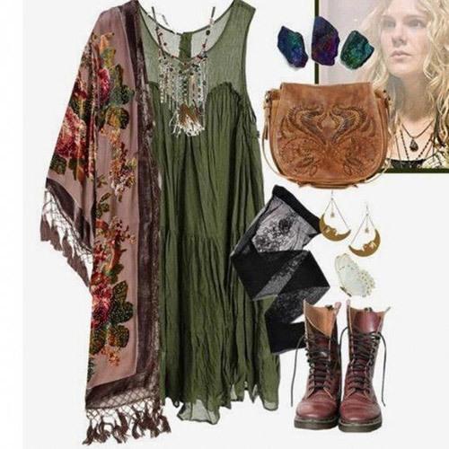 Bohemian Hippie Outfit Ideas