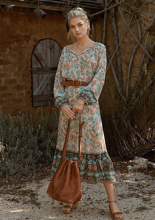 Bohemian Skirt Outfit Ideas