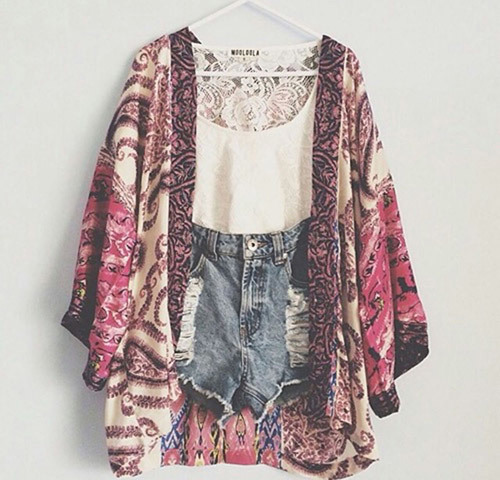 Bohemian Spring Outfit Ideas